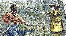 The capture of Nat Turner