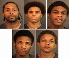 5 black home invaders