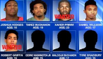 8 blacks wanted for murder of White baby boy