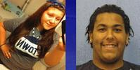 Christina Bossinger, 16, and Joseph Brumfield, 21