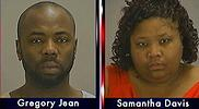 Gregory Jean and Samantha Joy Davis