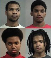 Jerron Bush, 20-year-old Craig Dean, 19-year-old Tyrone Booker and 18-year-old Shaquazz Allen