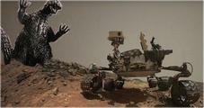 Curiosity Mars rover - Copyright (c) 2015 by New Nation News