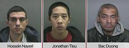 3 foreign inmates