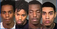 4 black home invaders
