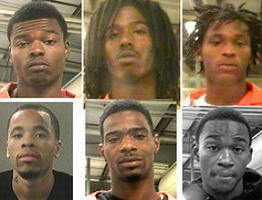 6 New Orleans inmates