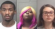 Craig Lamont Williams Jr., Cornay Crawford and Cheyenne Marie Totten