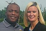 Demarcus Blanding and friend