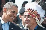 Obama and Indian Chief