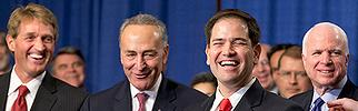 Marco Rubio and the 'gang of 8' (open-border traitors)