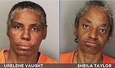 Urelene Vaught  and Sheila Taylor