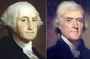 George Washington and Thomas Jefferson
