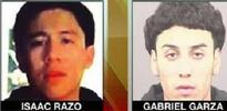 Isaac Razo, 17, and Gabriel Garza