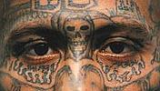 MS-13 Gangster tattoos