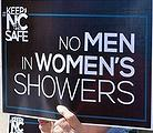 No Men in women's showers