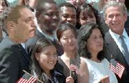 Bush welcomes New Citizens